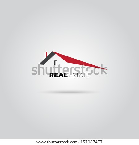 Vector Real Estate icon - stock vector