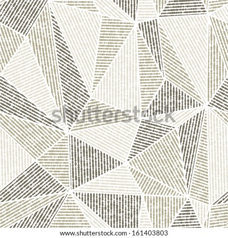 Vector seamless background.Black and gray modern texture. Abstract pattern. - stock vector