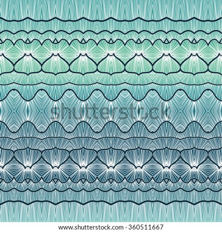 Vector seamless geometric pattern. Abstract vector decorative ethnic sketchy seamless pattern on colorful background. Geometric seamless pattern.   - stock vector