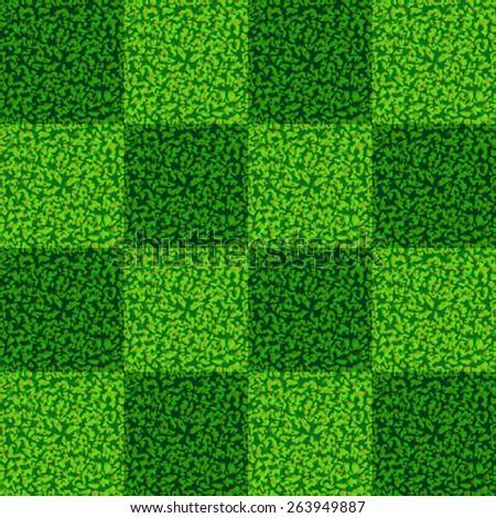 Vector Seamless Grass Tiles  Background Pattern - stock vector