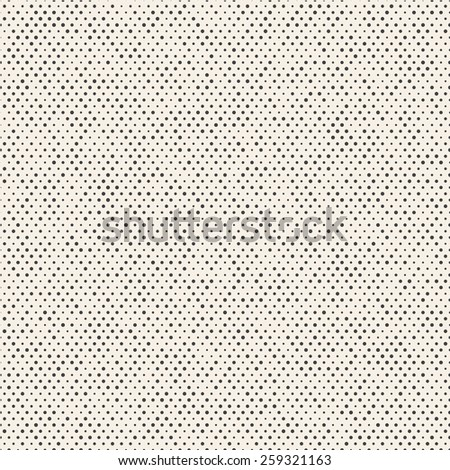 Vector seamless pattern. Abstract background with dots in random sizes.  - stock vector