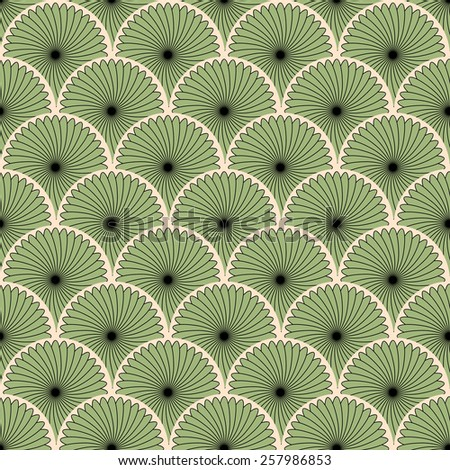 Vector seamless pattern. Abstract stylish background eps - stock vector