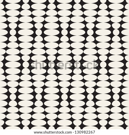 Vector seamless pattern. Abstract stylish background. Mesh texture - stock vector