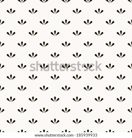 Vector seamless pattern. Modern stylish texture. Repeating abstract background - stock vector