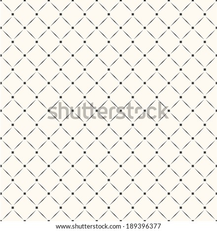 Vector seamless pattern Modern stylish texture Repeating abstract background  - stock vector