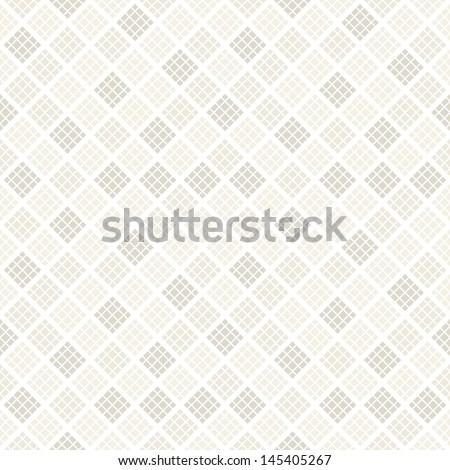 Vector seamless pattern. Modern stylish texture. Repeating geometric tiles of rhombus. Soft tones - stock vector