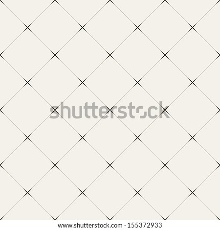 Vector seamless pattern. Modern stylish texture. Repeating geometric tiles of rhombuses - stock vector