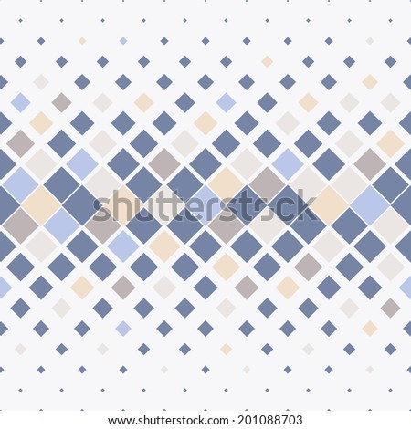 Vector seamless pattern. Modern stylish texture. Repeating geometric tiles with colorful rhombuses - stock vector
