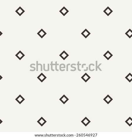 Vector seamless pattern of squares in contrasting colors - stock vector