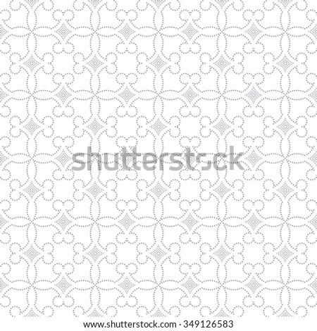 Vector seamless pattern. Repeating small dotted elegant texture. You can use seamless patterns as background, fabric print, surface texture, wrapping paper, web page backdrop, wallpaper and more - stock vector