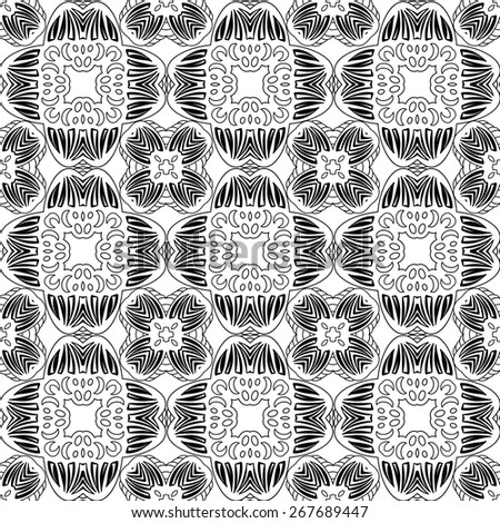 Vector seamless sample systematic dispersion of symmetric elements - stock vector