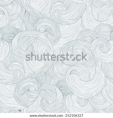 Vector seamless texture with abstract elements. Endless background. Vector backdrop. - stock vector