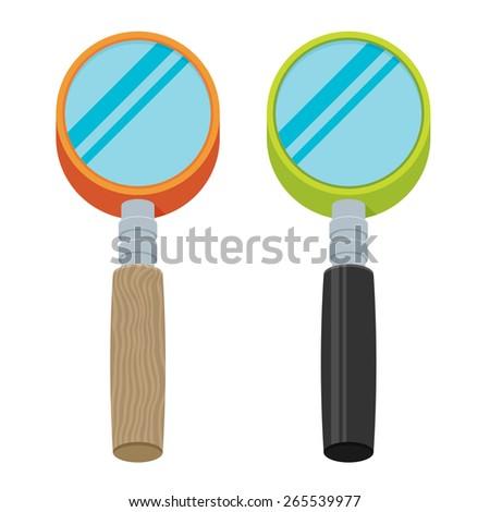 Vector Search Icon set  - stock vector