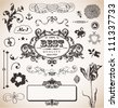 Vector set in vintage style for You - stock vector