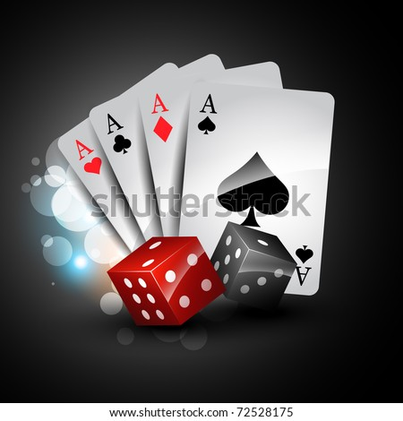 2 card poker logo graphics malta