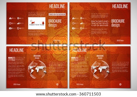 country brochure template - stock images similar to id 128959568 stationery design