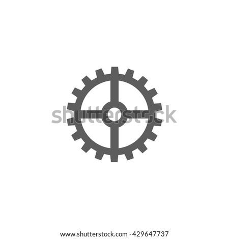 Vector Settings Icon - stock vector