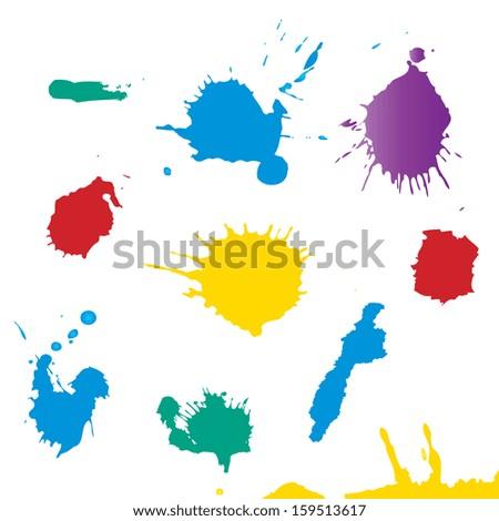 Vector-Shiny Splash - stock vector