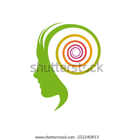 Vector sign dynamic thinking - stock vector