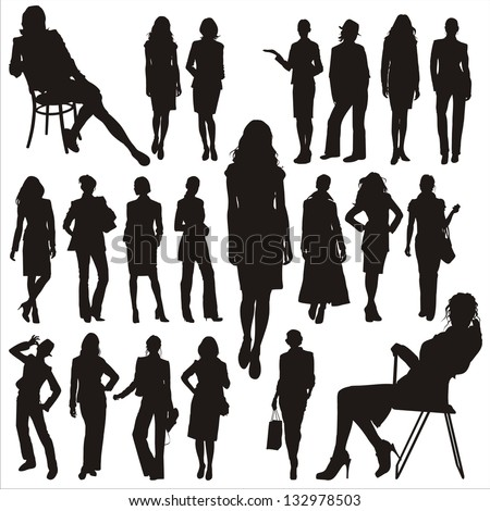 Woman silhouette stock photos images amp pictures shutterstock