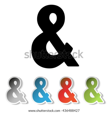 red ampersand stock photos images amp pictures shutterstock