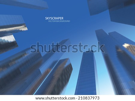 VECTOR SKYSCRAPERS - stock vector