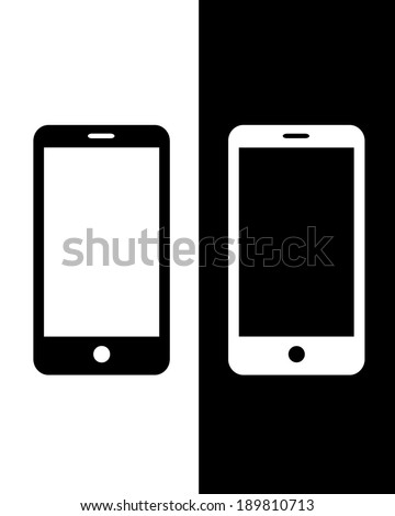 Iphone silhouette Stock Photos, Images, & Pictures | Shutterstock Iphone Silhouette Icon