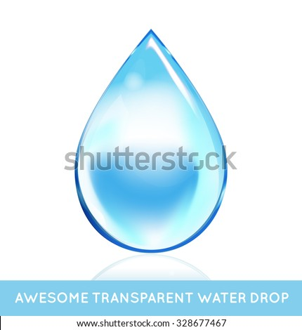 Vector Soap Water Bubbles. Transparent Isolated Realistic Design Elements. Can be used with any Background. - stock vector