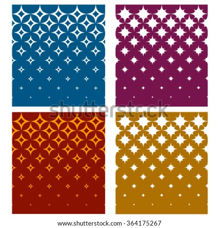 vector sparkle star festive backgrounds - stock vector