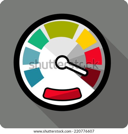 Odometer Icon Stock Illustrations & Cartoons | Shutterstock