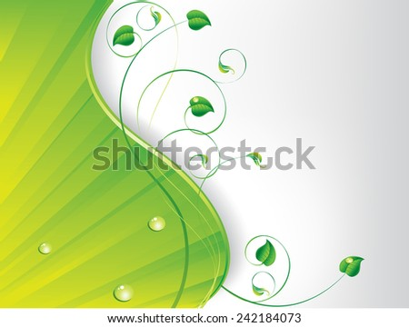 Vector spring  floral background. EPS 8 - stock vector
