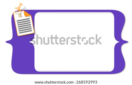 vector square brackets for entering text and document icon and coin - stock vector