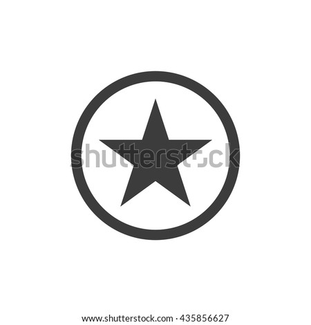 Vector star icon. Flat icon star. Flat vector illustration for web banner, web and mobile. Vector star icon graphic. Vector icon isolated on white background. star vector icon in black.  - stock vector