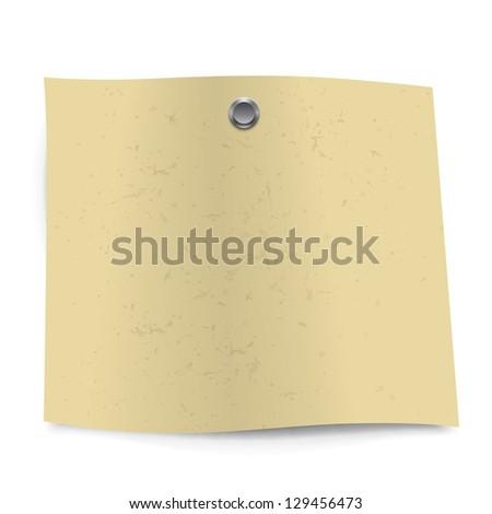 Vector sticker blank - stock vector