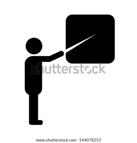Teacher Icon Stock Photos Images Amp Pictures Shutterstock