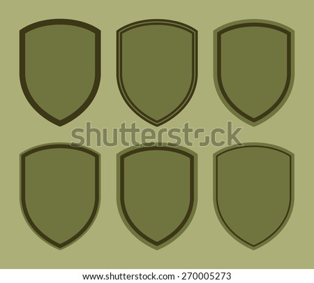 Military chevron stock photos images pictures for Military patch template