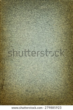 vector texture of the old green paper - stock vector