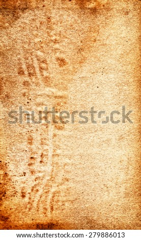 vector texture of the old grunge paper  - stock vector