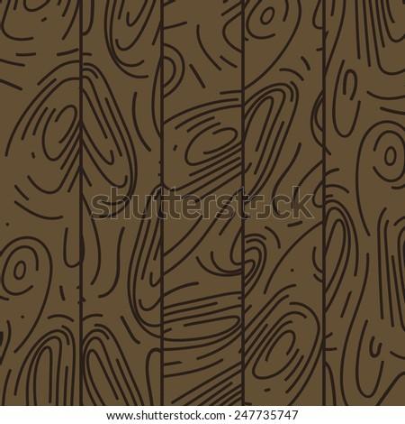 Vector texture wood background - stock vector