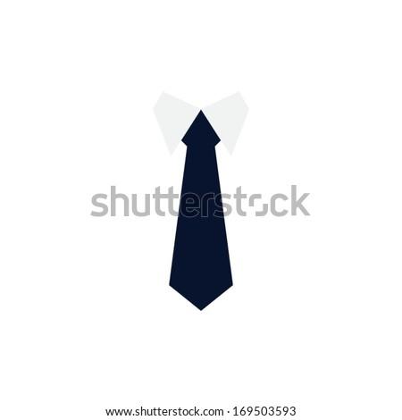 Vector Tie Icon - stock vector