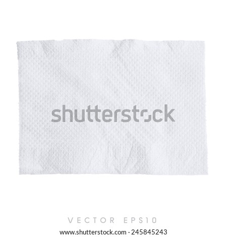 vector tissue - toilet paper - stock vector