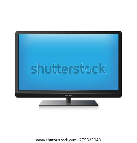 Vector TV screen - stock vector