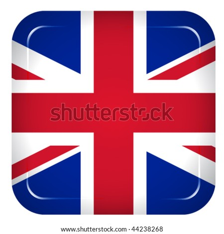 Vector united kingdom flag - stock vector