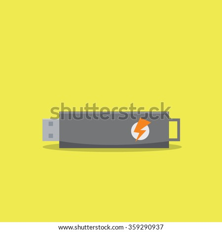 Vector usb - stock vector