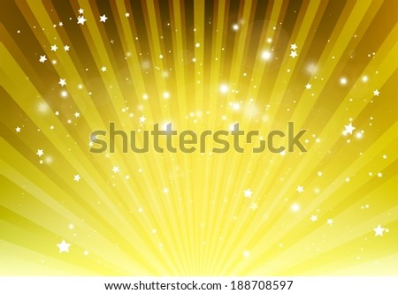 Vector vivid light rays spreading background  template  - Abstract lights background design illustration - stock vector