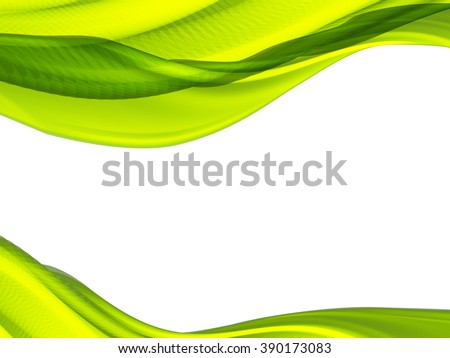 Vector wave and curve line. EPS10 with transparency. Abstract composition with curve lines. Blurred lines for relax theme background. Background with copy space. Place for text. Border lines - stock vector