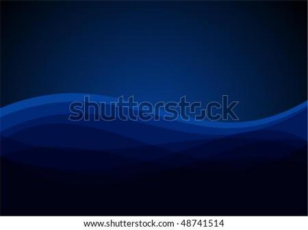 Vector waves background - stock vector