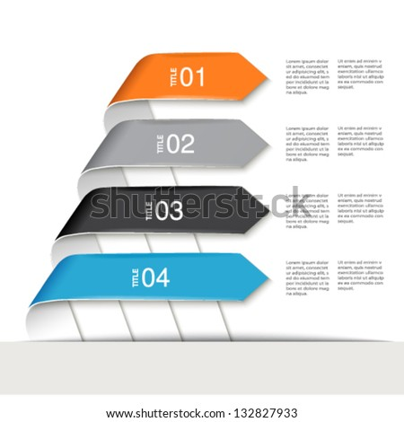 Vector web template - webpage, website layout - stock vector