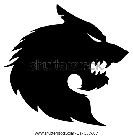 Wolf Silhouette Stock Photos Images Amp Pictures Shutterstock