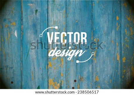 Vector wood texture. background old panels. Grunge retro vintage wooden texture, vector background. Distressed blue grunge wood grain texture background. - stock vector